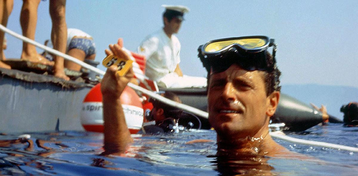 Enzo Maiorca record 58 metri